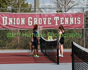 UGHS Tennis Girls Varsity 3-10-14