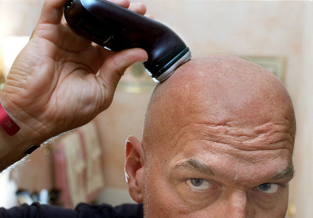 . <p>9:04 A.M.  </p><p>Rushes through a quick shave. Realizes that, yes, he still has plenty of time to bleed. </p><p>   (Pioneer Press file photo)</p>