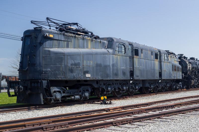 Pennsylvania Railroad GG1 class Number 4800