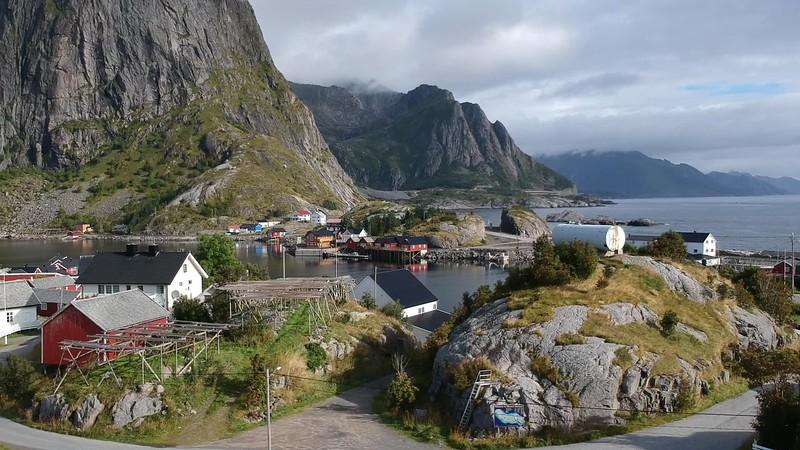 9-1-17241699lofoten Nusfjord Fishing Village.MP4