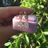 1.51ctw Diamond Mosaic OEC Dangle Earrings 13