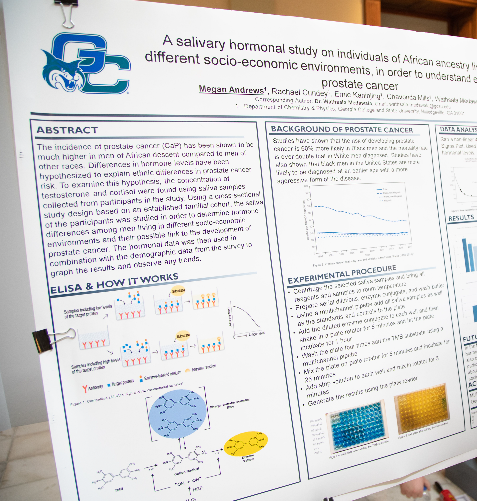 A GC research poster from 2020.