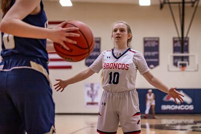 BACS Girls Varsity Basketball 02.04.21