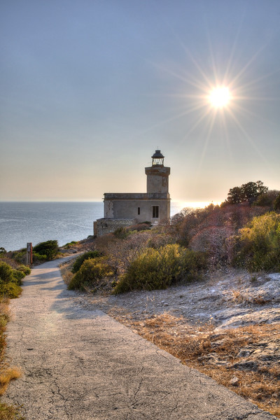 San Domino Island's Lighthouse - Tremiti, Foggia, Italy - August 19, 2013