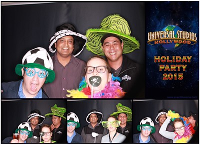 Universal Holiday Party 2015 Photo Booth