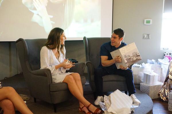 Katie & Josh Shower