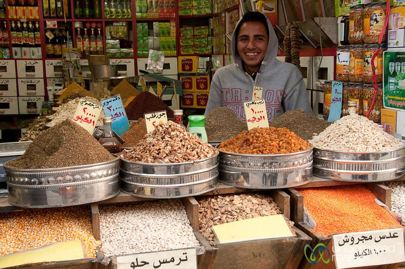 Friendly Spice Vendor - Amman, Jordan