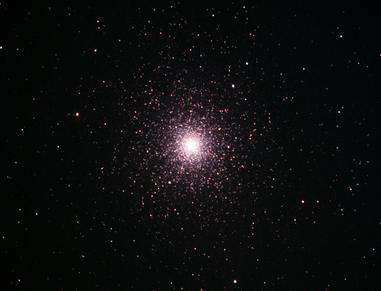 Caldwell 106 - NGC104 - 47 Tucanae Globular Cluster  - 23/10/2013 (Processed cropped stack)