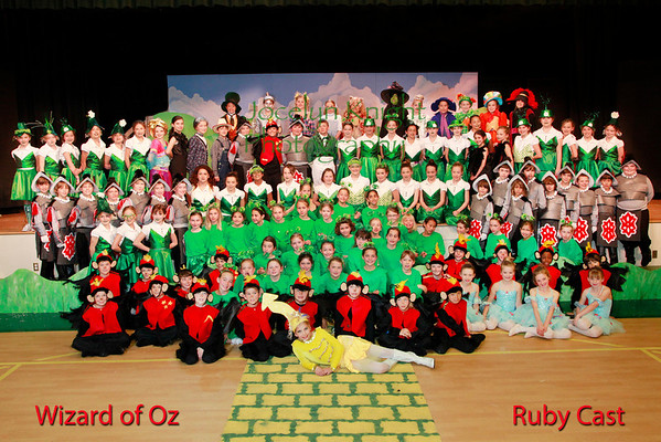 Wizard of OZ Ruby Cast
