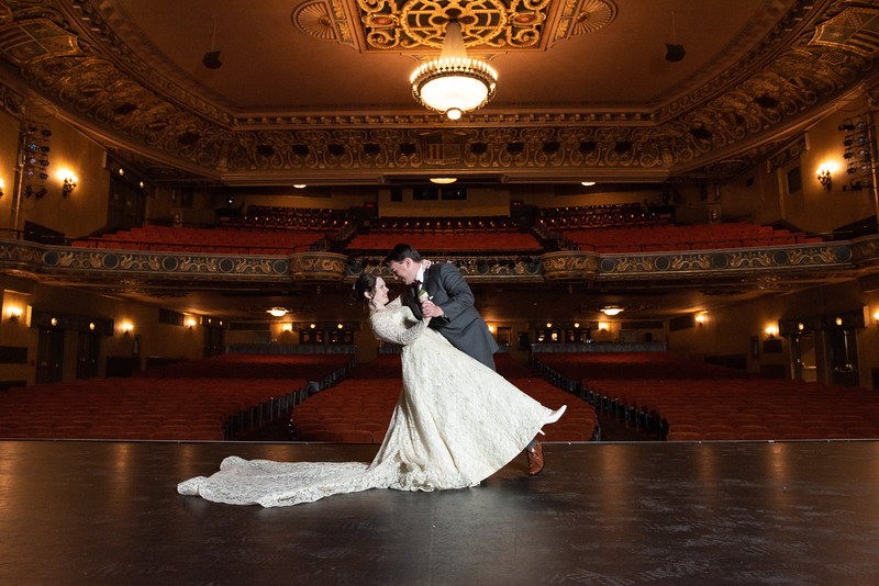 Colin & Meganne's wedding at the State Theatre
