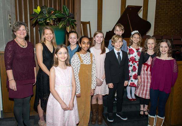 Joy Nichols Piano Studio - Winter 2020 Recital