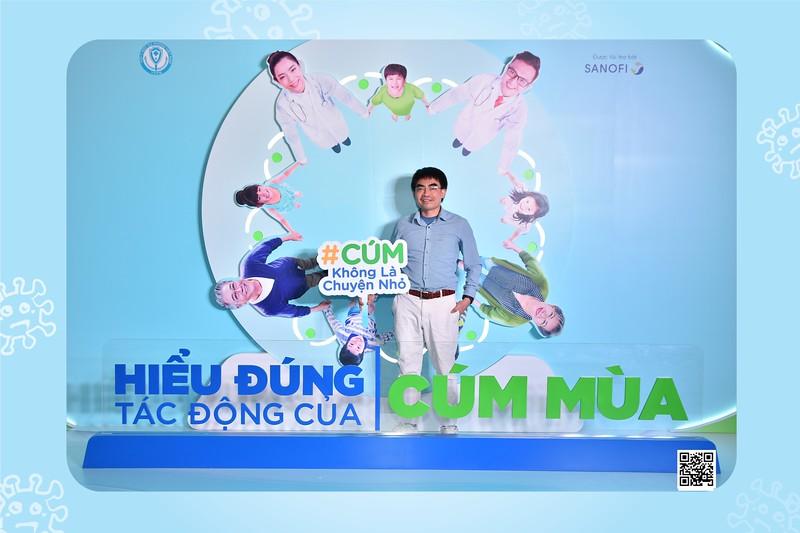 """Sanofi Vietnam   Hội thảo khoa học """"HIỂU ĐÚNG TÁC ĐỘNG CỦA CÚM MÙA"""" tại Lotte Hotel Hà Nội   Chụp hình lấy liền in ảnh lấy ngay Sự kiện tại Hà Nội   WefieBox Photobooth Vietnam"""
