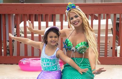 Angelina's Mermaid Birthday