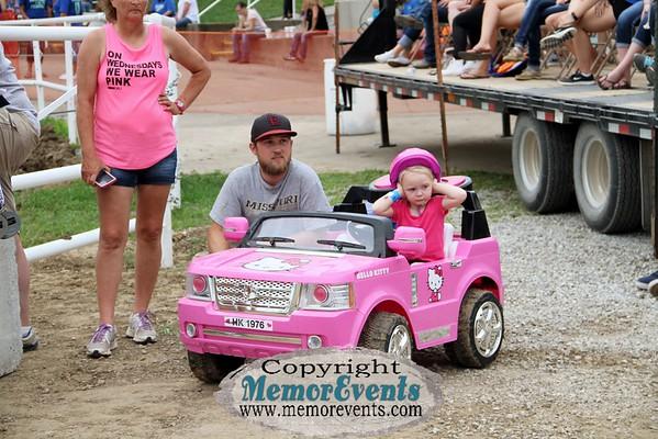 Power Wheels Race, Moniteau County Fair