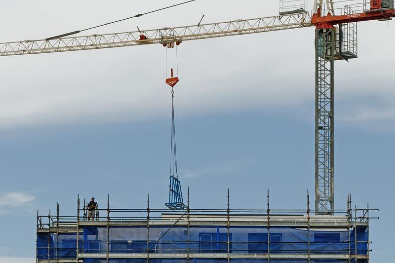 Working construction crane. Update 168.  Gosford. January 2019.