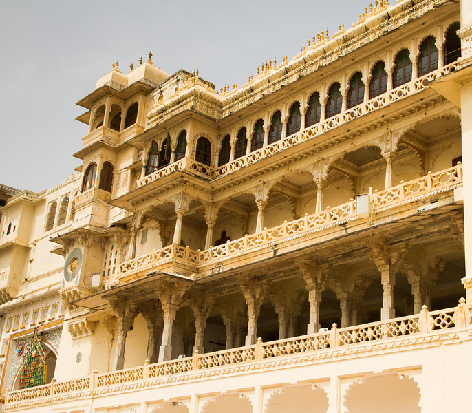 Udaipur city palace.