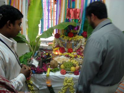 The Office Puja
