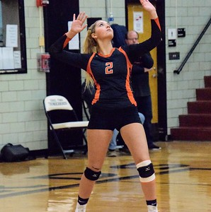HS Sports - Edsel Ford Deaborn High Volleyball District FInal