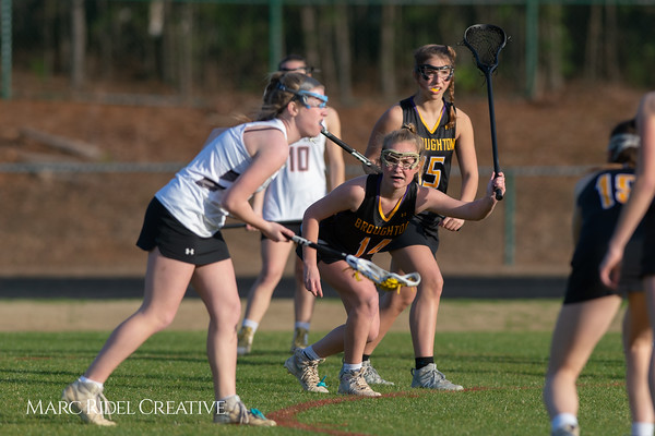 Broughton Lady Caps lacrosse at Middle Creek. February 26, 2019. D4S_1651