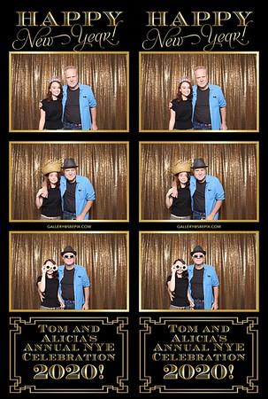 Tom & Alicia's NYE Celebration 2020