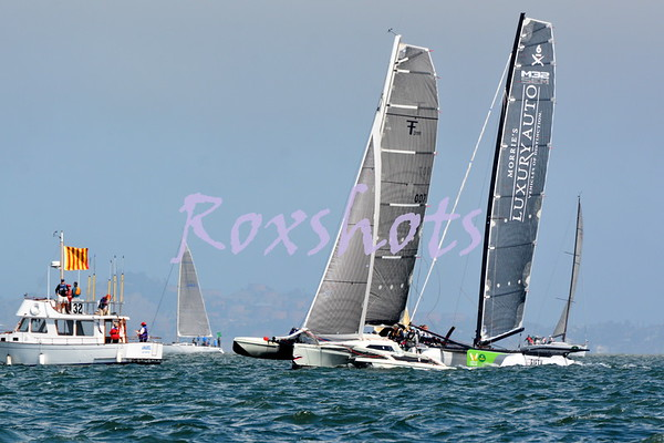 StFYC Big Boat Series, Day #1, Thurs. 9/15/16