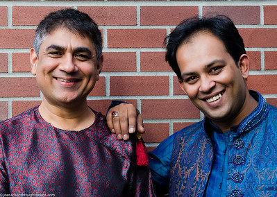Mohamed Assani and Shabaz Hussain (Fox Theatre Vancouver) 07 August 2015