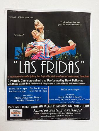 'Las Friedas' Dress Rehearsal January 2020