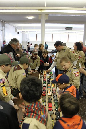 2012 - Pack 31 Pinewood Derby