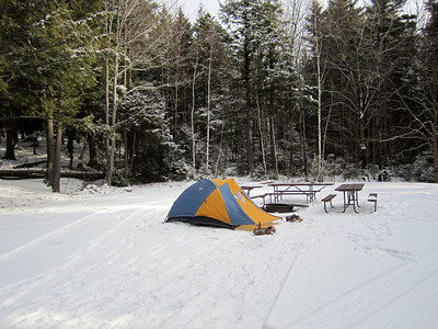 Camping & Liebeskind Loop hike