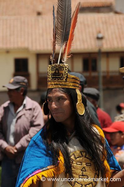 Incan Priest - Cusco, Peru