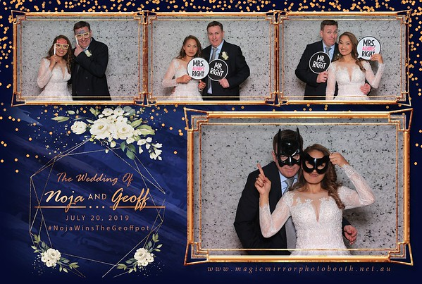Noja & Geoff Wedding - Cropley House