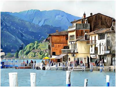 Iseo Lake - Peschiera Maraglio Fantasy