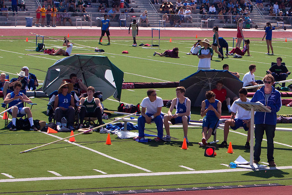 Josh Pole Vaulting - RBHS Invitational - 2012-03-10