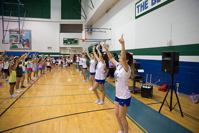 Montwood HS Summer Cheer Camp