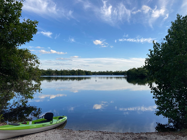 Paddling the East River at Fakahatchee Strand Preserve State Park