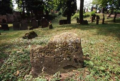 GERMANY, Worms. Alter Judischer Friedhof (1076 - 1911), the oldest Jewish cemetery in Europe. (2006)