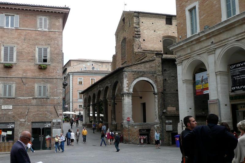 PIazza della Repubblica. Urbino, Marche