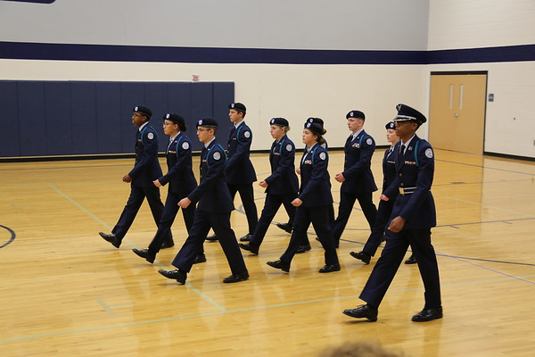 Lee's Summit West Drill Meet - 2017
