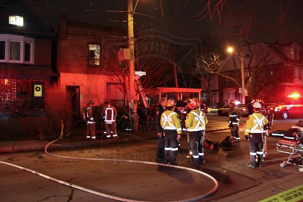 December 23, 2012 - Fatal 1st Alarm - 304 Sorauren Ave.