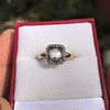 .53ctw Rose Cut Halo Ring, by Single Stone 13