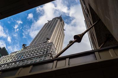New York - Midtown Manhattan walk.