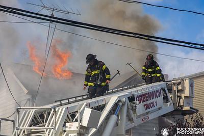 Dwelling Fire - 164 N Water St, Greenwich, CT - 11/2/20