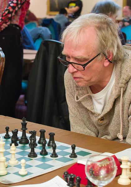 Robert Wilby, winner of u140 section