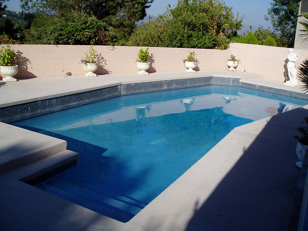 Pool Remodel Before, During & After