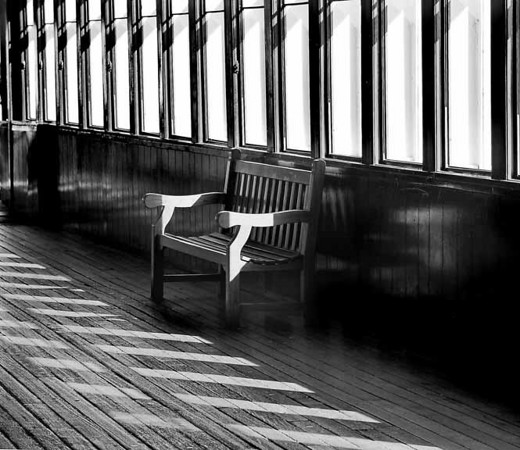I thought about how many thousands sat in this bench ... who are they.  Were they on holiday or on a life changing adventure.  After I took this snap ... I sat in the bench.