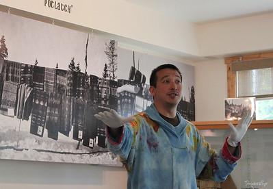Jack Dalton Storytelling Wrangell St Elias - Copper Center Alaska June 2011