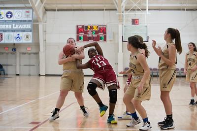 1/13/18: Girls' JV Basketball v Westminster