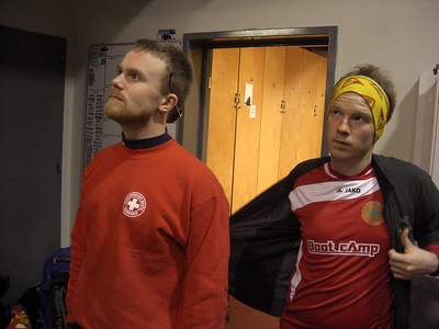 Hlaupið á Landsþing á Hellu 2011