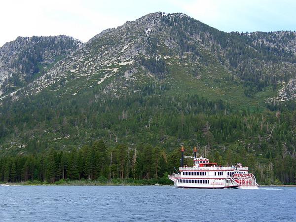 Tahoe Boat, Emerald Bay, July 2005