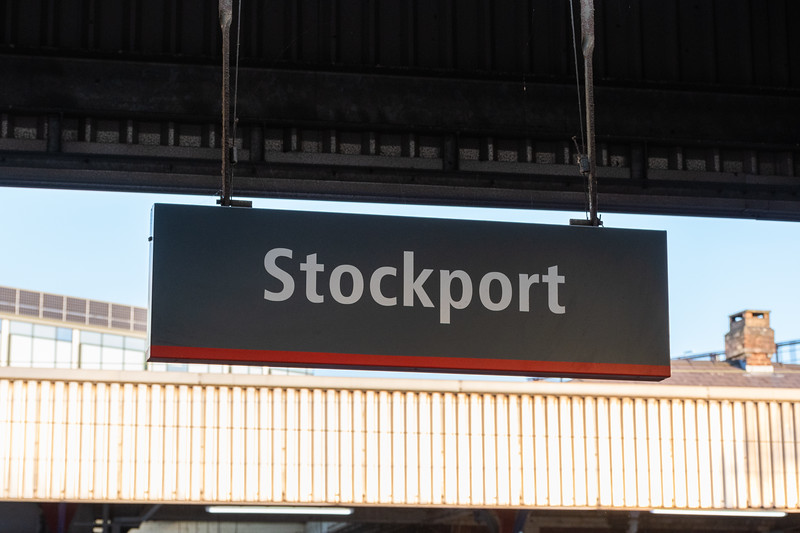 Stockport - Station Running Board (VTWC)